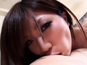JAPANESE BABE NANA OSHIKIRI WANTS HER PUSSY STUFFED WITH DICK