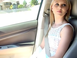 Young Lily Rader is ready for her casting scene