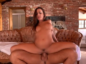 Abigail Mac on top of a glorious big cock