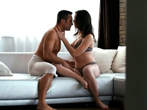 Morning Couple Have Hot Passionate Sex