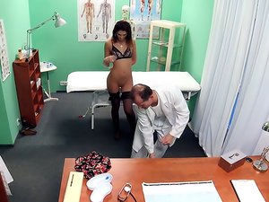Dirty Doctor Bangs His Patient