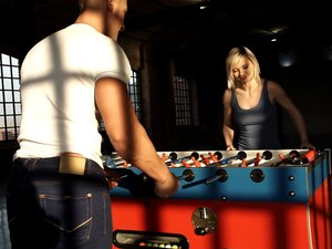 Foosball Sexual Release