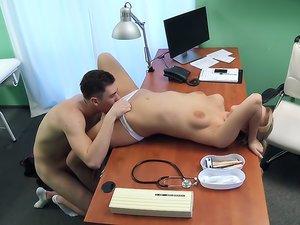 Sexy nurse wants a quick fuck