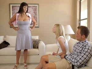 Moms Teach Sex - Caught with a Big Cock