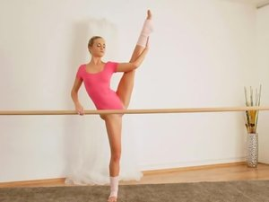 PetiteBallerinasFucked.com - Tiny Blonde Ballerina