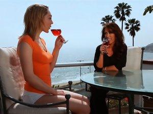 Lily Labeau & Capri Cavalli In My Roommate's A Lesbian