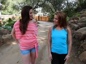 Samantha Ryan & Inari Vachs In My Roommate's A Lesbian