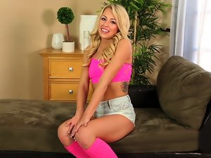 Zoey Monroe In Teen Tryouts 63