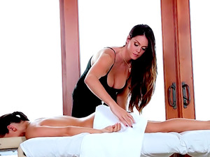 Caressing Sara