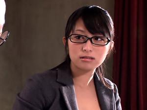 Naughty Asian Secretary
