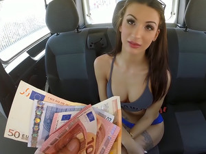 Fucking For Money In The Bang Bus