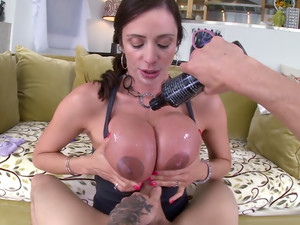Big Tit Milf Gets Her Asshole Pounded